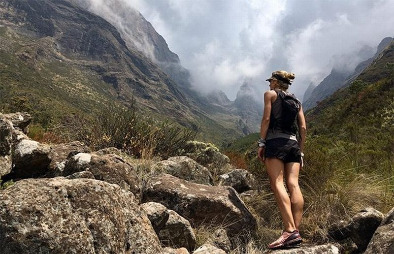 Meet The First South African Woman To Cross The Finish Line At The World Masters Mountain Running Championships