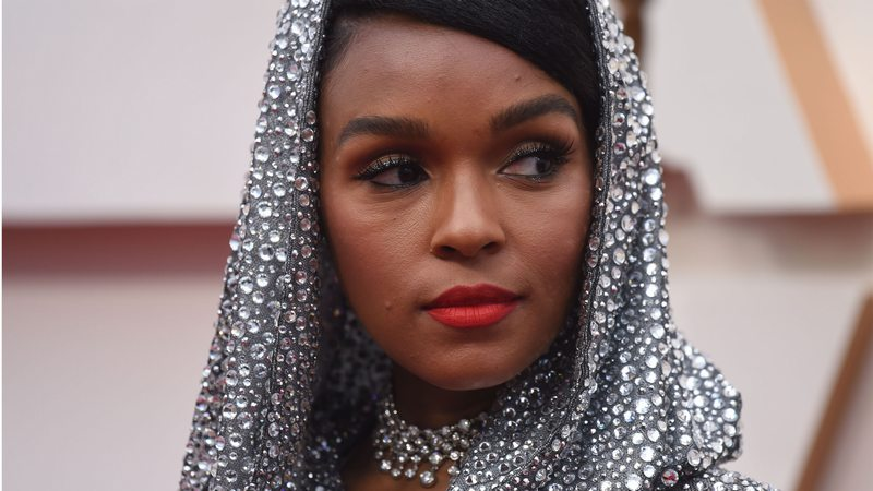 Janelle Monae's Dramatic Oscars Look Is Basically a Disco Ball for the RedCarpet