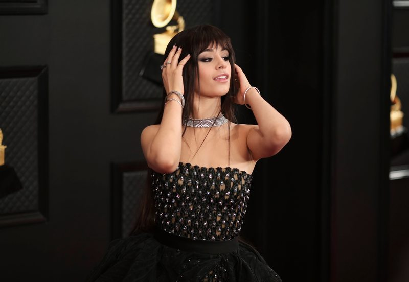 You Better Werk—Camila Cabello Delivers Grown and Sexy Beauty Inspo at theGrammys